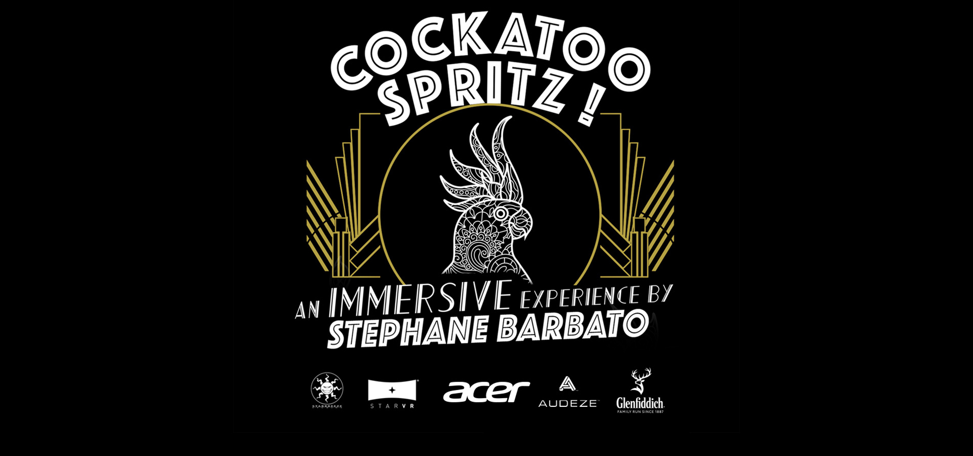 "Premiering the Cinematic VR-experiene ""Cockatoo Spritz"" at Cannes May 11-20"